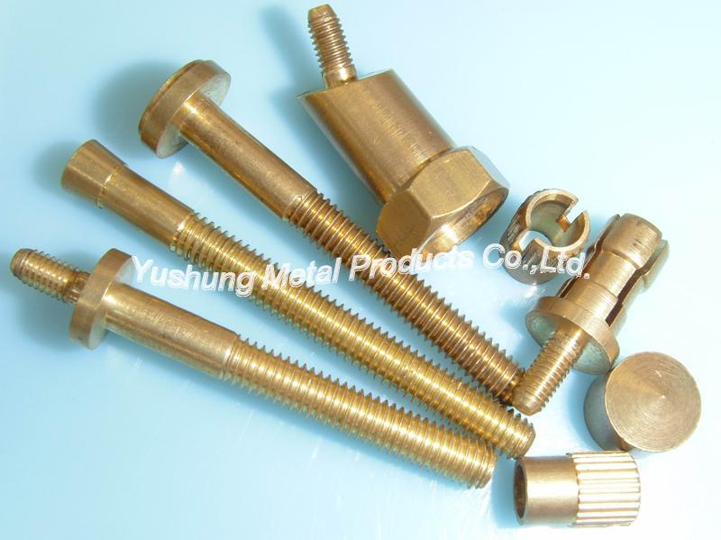 Brass custom -made parts