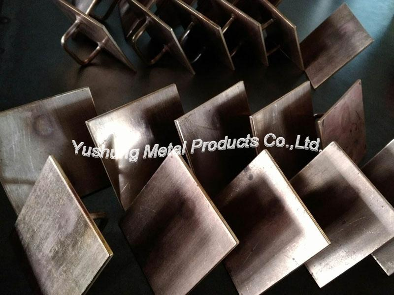 Silicon bronze Brackets